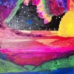 """Neon Space"" by skyturnsindigo"