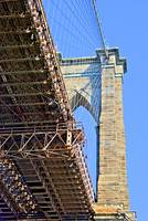 Brooklyn Bridge Tower, NYC