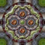 """Yin Yang Mandala #25"" by ravenswingstudio"