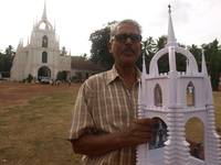 Saligao church models