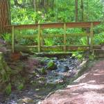 """Wooden Bridge Over Mountain Stream"" by staceylynnpayne"