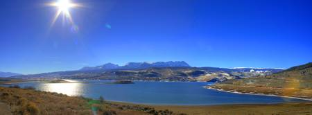 Green Mountain Reservoir Panorama