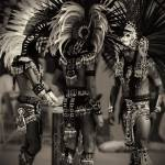 """Aztec Fire Dancers"" by PadgettGallery"