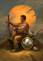 Tribute to Frazetta