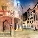 """Street Scene In Italy"" by awagner"
