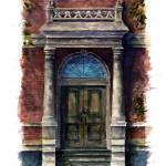 """City Street entry door : 81"" by OAKTREE"