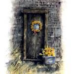 """""""Barn entry door : 67"""" by OAKTREE"""