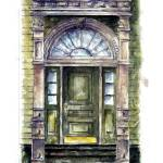 """City Street entry door : 51"" by OAKTREE"