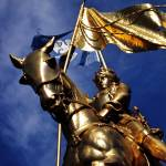 """Joan of Arc statue - New Orleans French Quarter"" by masonwood"
