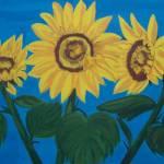 """Sunflowers"" by elajanus"
