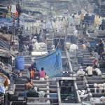 """Overview of Dhobi Ghat, Mumbai, India"" by JonathanKingston"