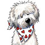 """Wheaten Terrier Sweetie"" by KiniArt"