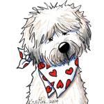 """""""Wheaten Terrier Sweetie"""" by KiniArt"""