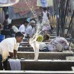 """Mahalaxmi Dhobi Ghat, Mumbai, India #2"" by JonathanKingston"