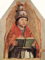 Portrait of Pope Gregory the Great by Antonello da