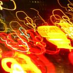 """Abstract Lights"" by SharonANelson"