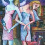 """ANGELS OF ZODIAC. GEMINI, THE TWINS"" by nesis"