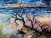 Jekyll Island Last Of A Kind Oil Painting Ginette