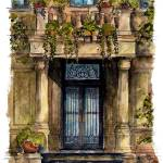 """City Street entry door : 37"" by OAKTREE"