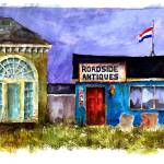 """Antique Shop : 48"" by OAKTREE"