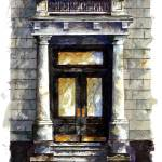 """City Street entry door : 55"" by OAKTREE"