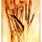 """Paintbrushes"" by harmonywalls"