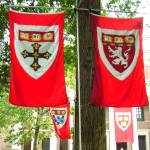 """Harvard Commencement - banners"" by ginaspics"