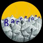 """barcelona (yellow sky)"" by artmixture"