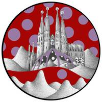 sagrada unfamiliar (red sky)