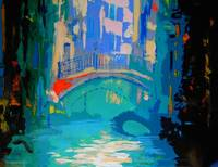 Venice Italy Canal by RD Riccoboni