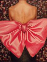 Runway Holiday with Red Bow