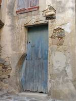 Unusual Blue Door