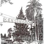 """Kensington - San Diego - by RD Riccoboni"" by BeaconArtWorksCorporation"