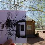 """""""Pine Library Then and Now"""" by cogdog"""