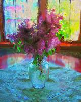 Lilacs on my Table, Flieder