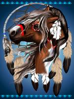 Paint Horse Dreamcatcher