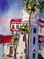 St. Augustine Florida Oil Painting by Ginette
