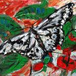 """Butterfly in Callaway Gardens Oil Painting Ginette"" by GinetteCallaway"