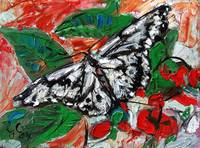 Butterfly in Callaway Gardens Oil Painting Ginette