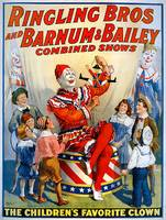 Ringling Bros Barnum & Baileys Favorit Clown