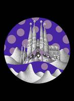 sagrada unfamiliar (dark blue sky)
