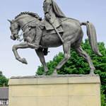 """""""Bonnie Prince Charlie Statue, Derby (18114-RDA)"""" by rodjohnson"""