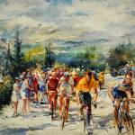 """W H . Tour de France ,montventoux"" by willemhaenraets"