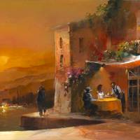 Dinner for two 1 Art Prints & Posters by Willem Haenraets
