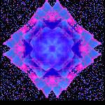"""Cosmic Flower"" by 13christi1796"