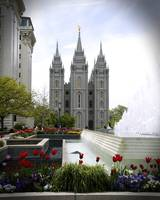 Salt Lake City LDS Temple Square