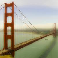 Open Up! Golden Gate Bridge Art Prints & Posters by Soulful Photos