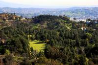 Hills Surrounding Griffith Observatory 0792