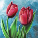 """Red Tulips #1"" by stevebaier"