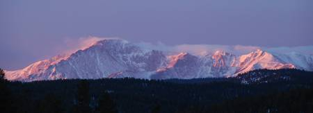 Pikes Peak March Sunrise